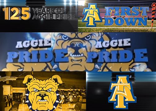 NC A&T Collage